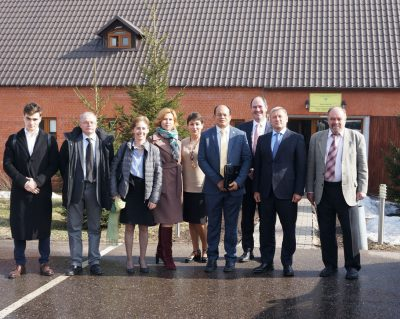 Встреча замминистра природы России с Исполнительным секретарем Сторон Базельской, Роттердамской и Стокгольмской конвенций