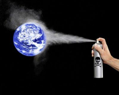 Принято решение снизить производство разрушающих озоновый слой веществ